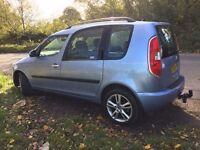 Skoda Roomster 1.6 (Automatic) with genuine mileage of only 27,000 miles