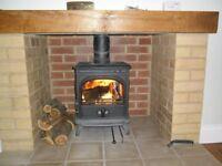 Oak Bressummer/for Woodburner Fireplace