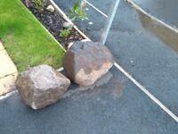 Large decorative garden rock - Free