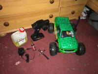 Brand new Rc car been used 3 times swap