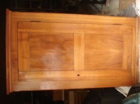 antique cherrywood cupboard armoire