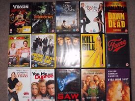 40+ DVDs - Price reduced (plus DVD player) Needs to go ASAP