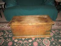 Antique Pine Blanket box mid to late 1800's