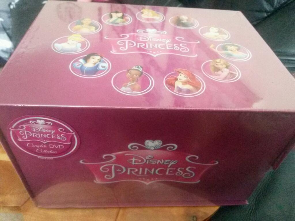 disney princess dvd box set new in blackpool lancashire. Black Bedroom Furniture Sets. Home Design Ideas