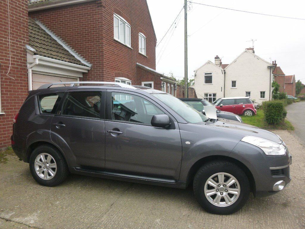 citroen c crosser vtr suv for sale good cond fsh switchable 4x4 7 seat potential in. Black Bedroom Furniture Sets. Home Design Ideas