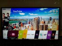 """LG 43UJ635V 43"""" 4K UHD HDR Smart Freeview Freesat HD LED"""