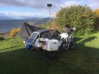 Yamaha Xj900f with Briggs Sidecar.
