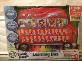 Brand new leap frog learning bus
