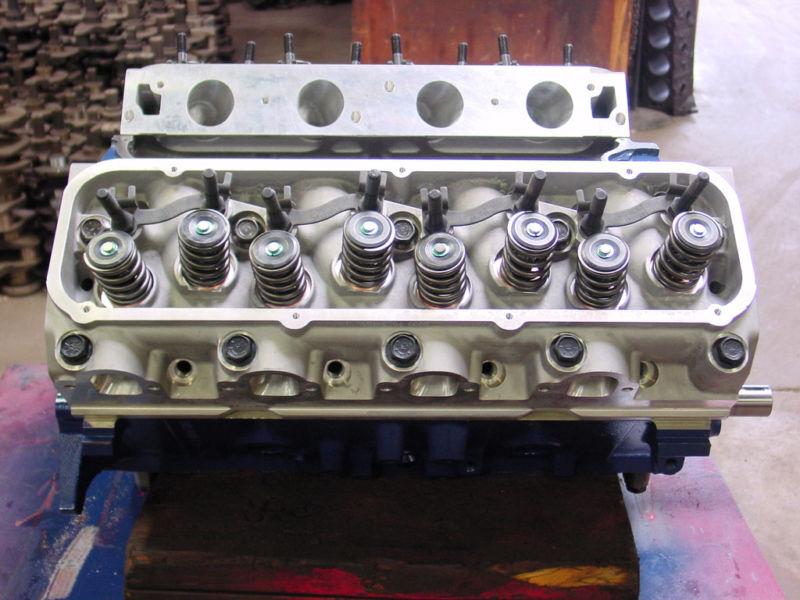 Ford 460 532 555 514 557 Stroker Marine Rebuilt Engine Alumium Head Mustang