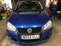 VOLKSWAGEN GOLF GT TDI 4 MOTION FULLY LEATHER INTERIOR WITH HEATED SEATS