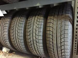 P245/65R17 Michelin winter tire package with TPMS, steel rims