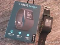 Fit bit surge watch large