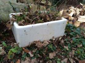 Large Belfast sink planter for sale