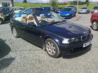01 BMW 320 Ci convertible 2 door only 74000 mls ( can be viewed inside anytime)