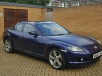 56 PLATE MAZDA RX8 230BHP TOP SPEC - FULLY LOADED - PX WELCOME