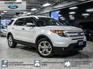 2013 Ford Explorer Limited, Smart Key, Towing Package, Dual Moon