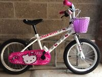 Girls Hello Kitty 16'' BMX Bike- Built.