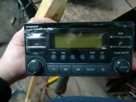 For sale brand new radio/CD Nissan