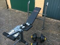 Weights & bench