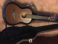 Beginners guitar (inc. tuner & case)