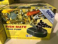 Fish Mate 5000 Pond Pump BNIB (2 available)