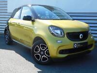 smart forfour PRIME PREMIUM T (yellow) 2015-10-31