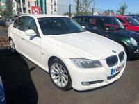 BMW 318 SE PETROL MANUAL 2.0 4 DOORS SALOON WHITE 2009 FULL HISTORY 1 OWNER