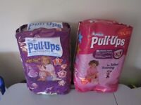 huggies pull-ups -unopened, size 5