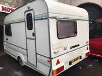Omega compass 360-2 berth 1992 caravan with awning! Very good condition inside and out! Damp free!