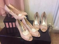 Blush Heels (SIZE 4, 6, 8 AVAILABLE)