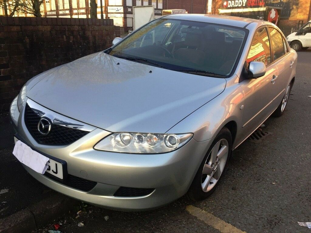2003 MAZDA 6, MANUAL 1.8 PETROL SILVER 'BREAKING'' parts for sale