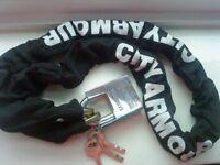 BIKE LOCK CITY ARMOUR WITH 3 KEY BRAND NEW EXTRA SECURITY