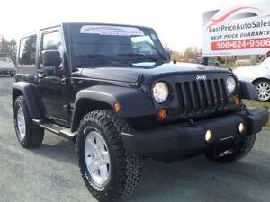 2010 Jeep Wrangler SPORT! BIG BFG'S! HARDTOP! CERTIFIED!
