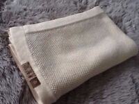 Bugaboo Cream Wool Blanket