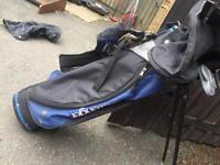 Slazenger golf bag & clubs