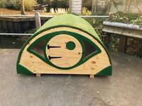 For xmas Wooden/Timber Children's Hobbit Houses, Glamping £290.00