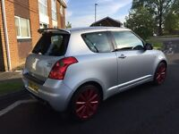 LOW MILEAGE Suzuki swift sport, full service history, long mot £2695!!!!!
