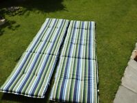 SUNBED LOUNGER CUSHIONS