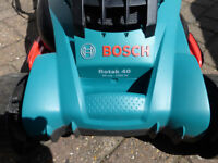 Bosch Rotak 40 Lawn Mower - Spares or Repair Only -