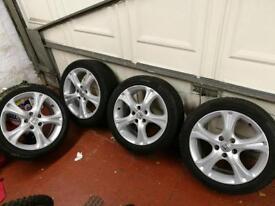 "Honda 17"" alloys with tyres very rare"