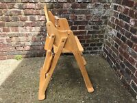 Baby feeding table chair folding