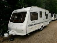 Elddis leven 2003 4 berth fixed bed with moter mover