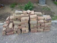 Bricks - stack of about 100 second hand