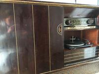 Grundig Record Player Gramophone (Made in W Germany, circa 1960)
