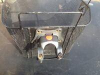 Matel bike basket