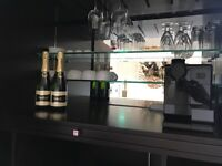 SHOWROOM CLEARANCE Beautiful Cocktail Bar/Drinks Cabinet by DECCA