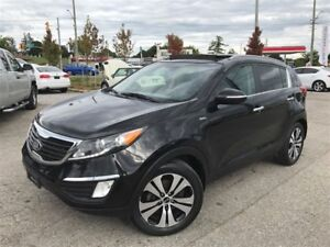2013 Kia Sportage EX Luxury / LEATHER / SUNROOF