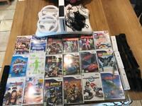 Wii console balance board 18 games