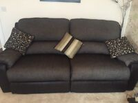 Electric Recliner 3 Seater Sofa Excellent condition
