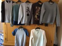 14 x Sweatshirts bundle job lot ideal for car boot or new wardrobe